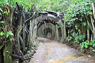 Nature gate