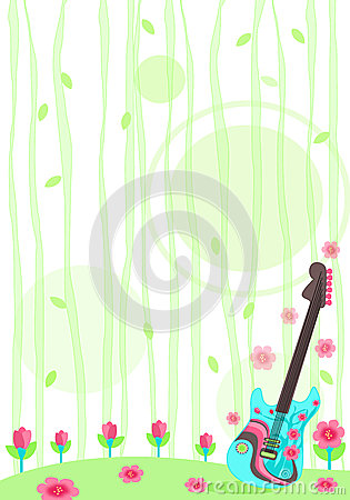 Nature Guitar Stationary