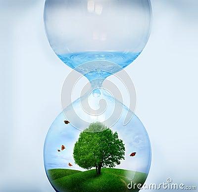 Nature in Hourglass
