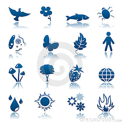 Nature icon set