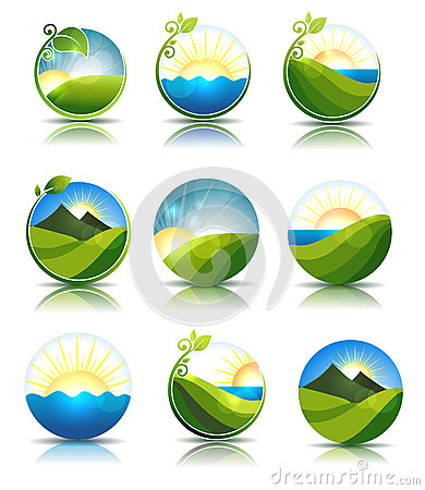 Free Nature Icons Royalty Free Stock Images - 31726029