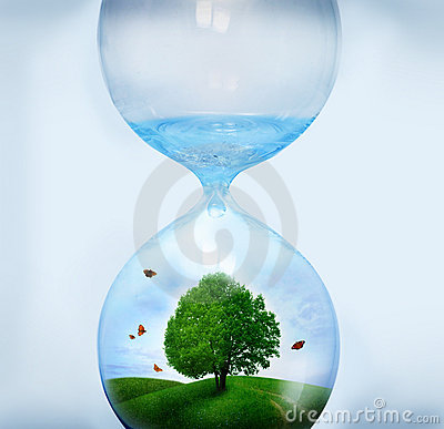 Free Nature In Hourglass Stock Photos - 23199943