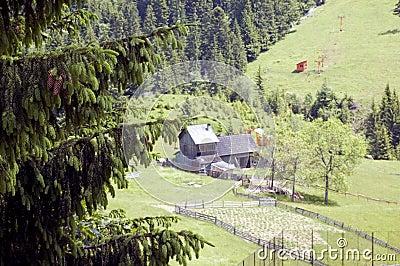 Nature, Lansdcape , house
