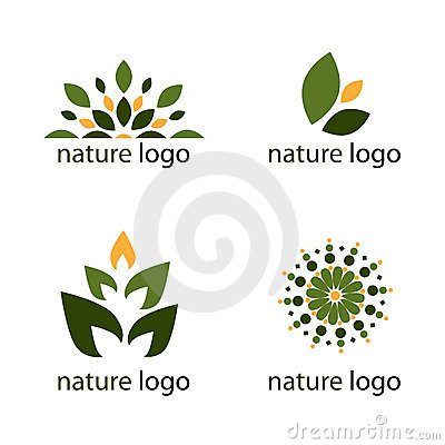 Free Nature Logos Royalty Free Stock Photo - 13860285