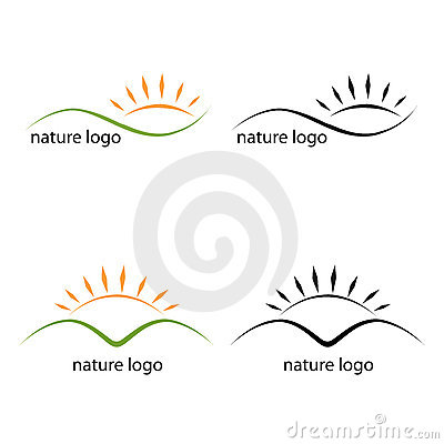 Nature Logos Stock Photos - Image: 14780613