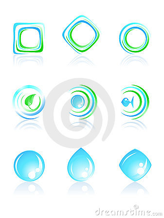 Nature logos.