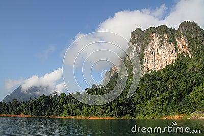 Nature of Mountain and lake.
