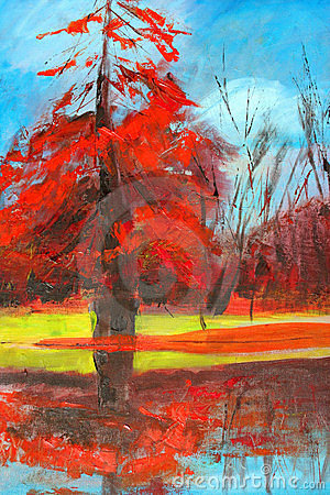 Nature painting.