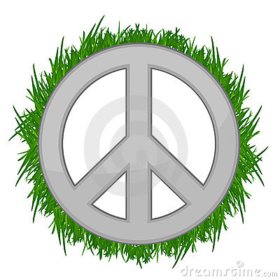 Nature Peace sign illustration