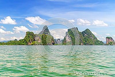 Nature of Phang Nga National Park
