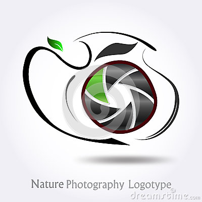 Nature Photography company logo #vector