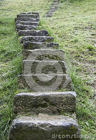 Free Nature Stone Stairs Royalty Free Stock Images - 80276779