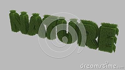 Nature text 3D