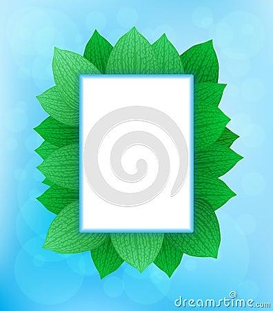 Nature theme frames