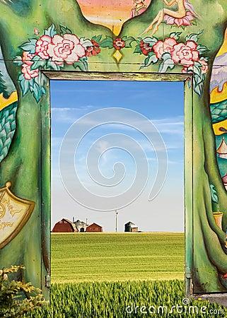 Free Natures Door Stock Photo - 4314750