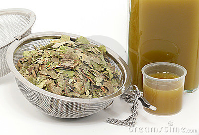 Naturopathy, dried birch leaves