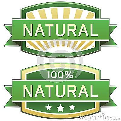 Natuurlijk product of voedseletiket