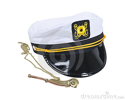 Nautical Hat and Whistle