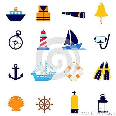 Free Nautical Icon Stock Image - 16310331
