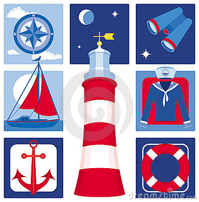 Nautical icons (Set 2)