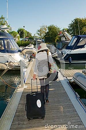 Nautical lady