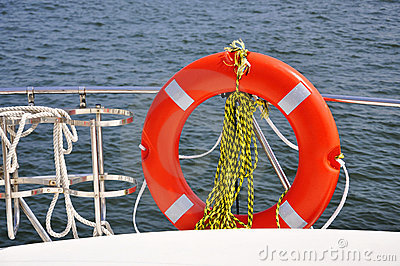 Nautical life saver equipment lifebuoy