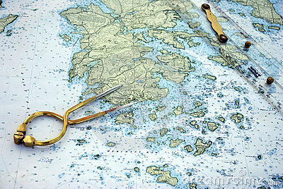Nautical Navigation Chart & Tools