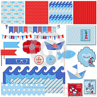 Free Nautical Sea Theme Stock Image - 31304161