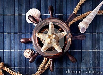 Nautical still life.