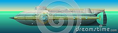 Nautilus submarine of Captain Nemo