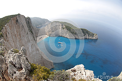 Navagio Strand-ionisches Meer