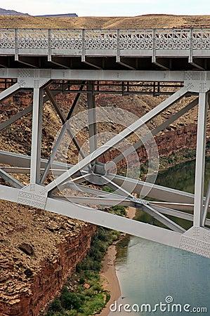 Navajo Bridge Marble Canyon Arizona