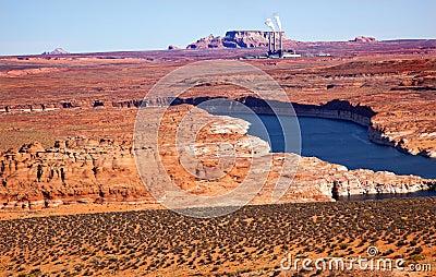 Navajo Generating Station Lake Powell Glen Canyon