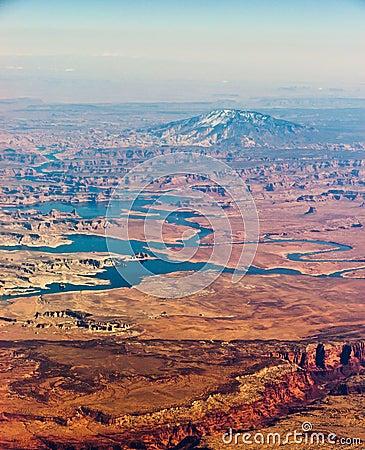 Navajo Mountain aerial