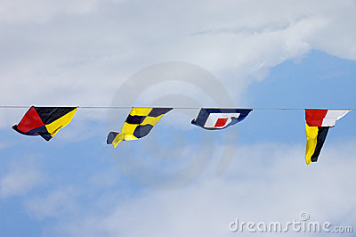 Naval Flags Stock Images - Image: 15495174