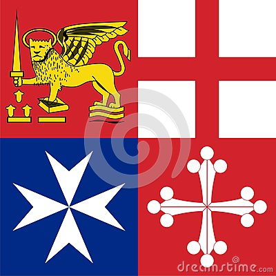 Naval jack of italy