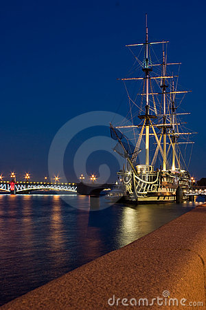 Nave en St Petersburg
