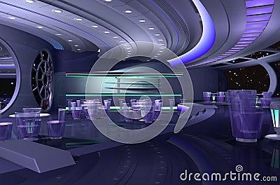 Nave espacial 3d imagem de stock imagem 10276931 for Interior nave espacial