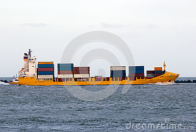 Nave porta-container