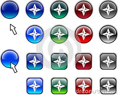 Navigation buttons.