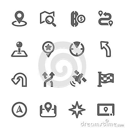 Free Navigation Icons Stock Photos - 32324433