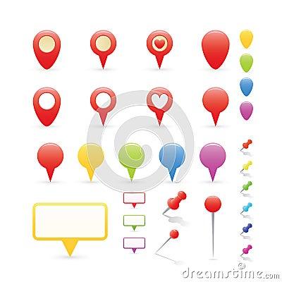 Navigation Markers Set
