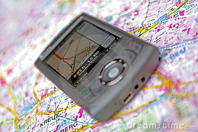 Navigation mobile phone GPS