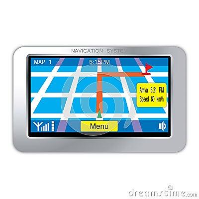 Navigation system device