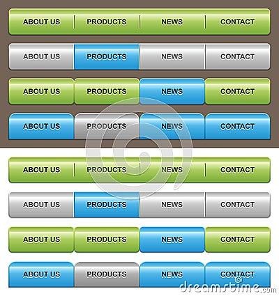 Navigation templates