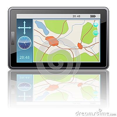Navigator vector icon