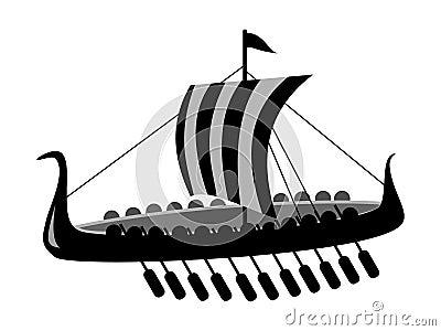 Navio de batalha antigo