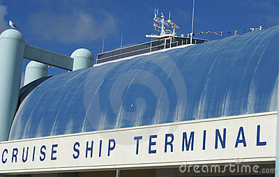 Navio de cruzeiros Terninal