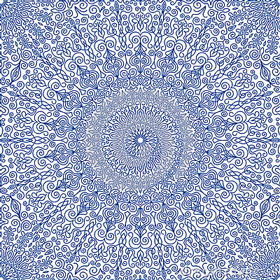 light blue lace mandala - photo #39