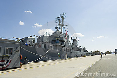 Navy destroyer